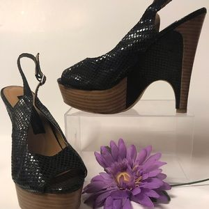 Steve Madden Luxe L-Melo Size 6.5 6 1/2